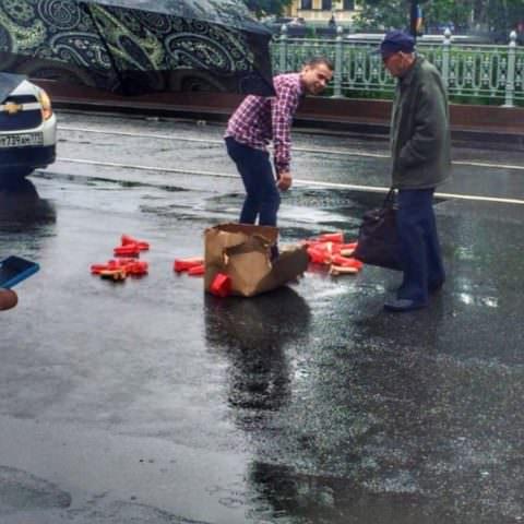 Фаллоимитаторы в центре Москвы